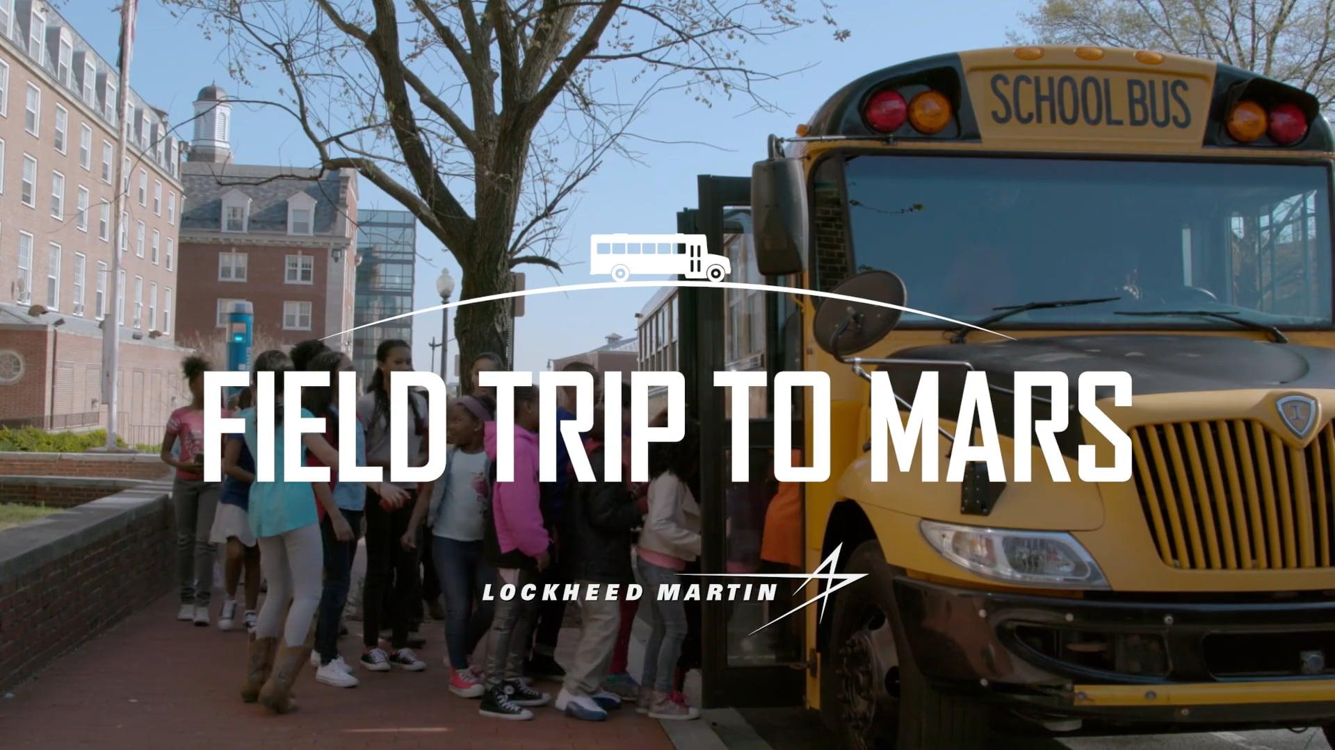 Field Trip to Mars-schoolbus
