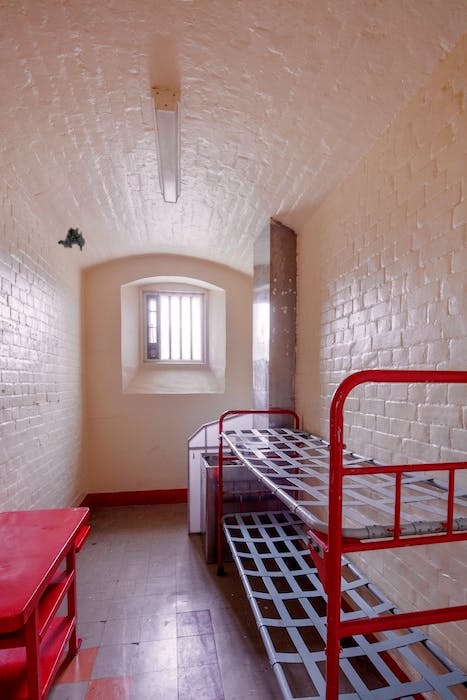 Oscar Wilde's cell at Reading Prison