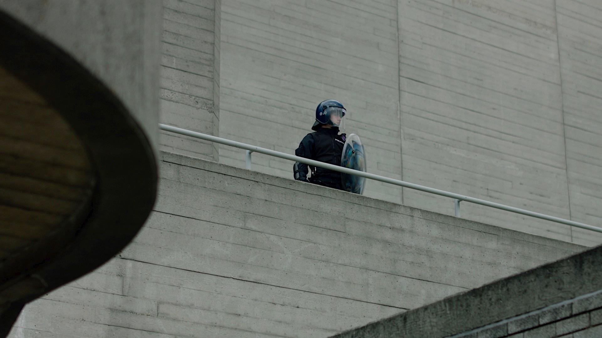 RIOT Still-Police