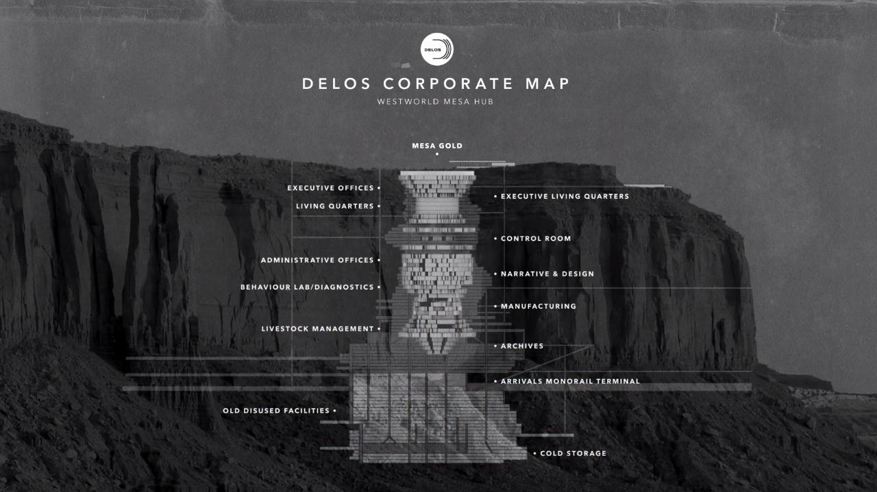 delos corporate office map