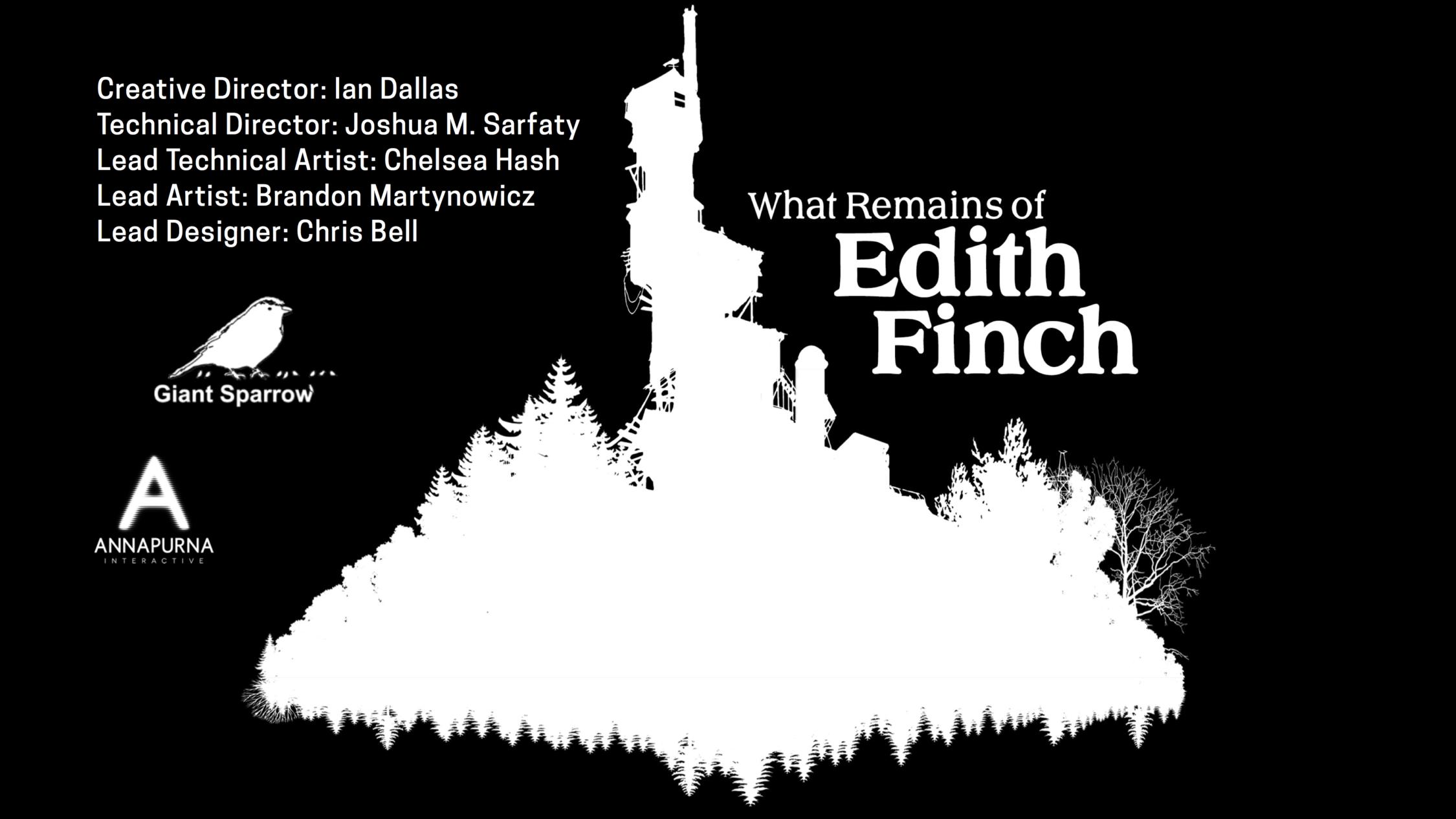 Edith Finch credits