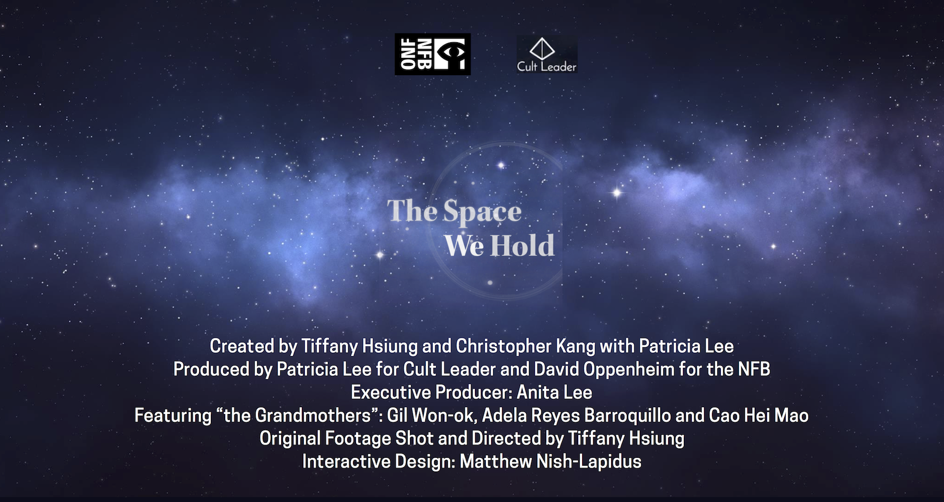 The Space We Hold credits