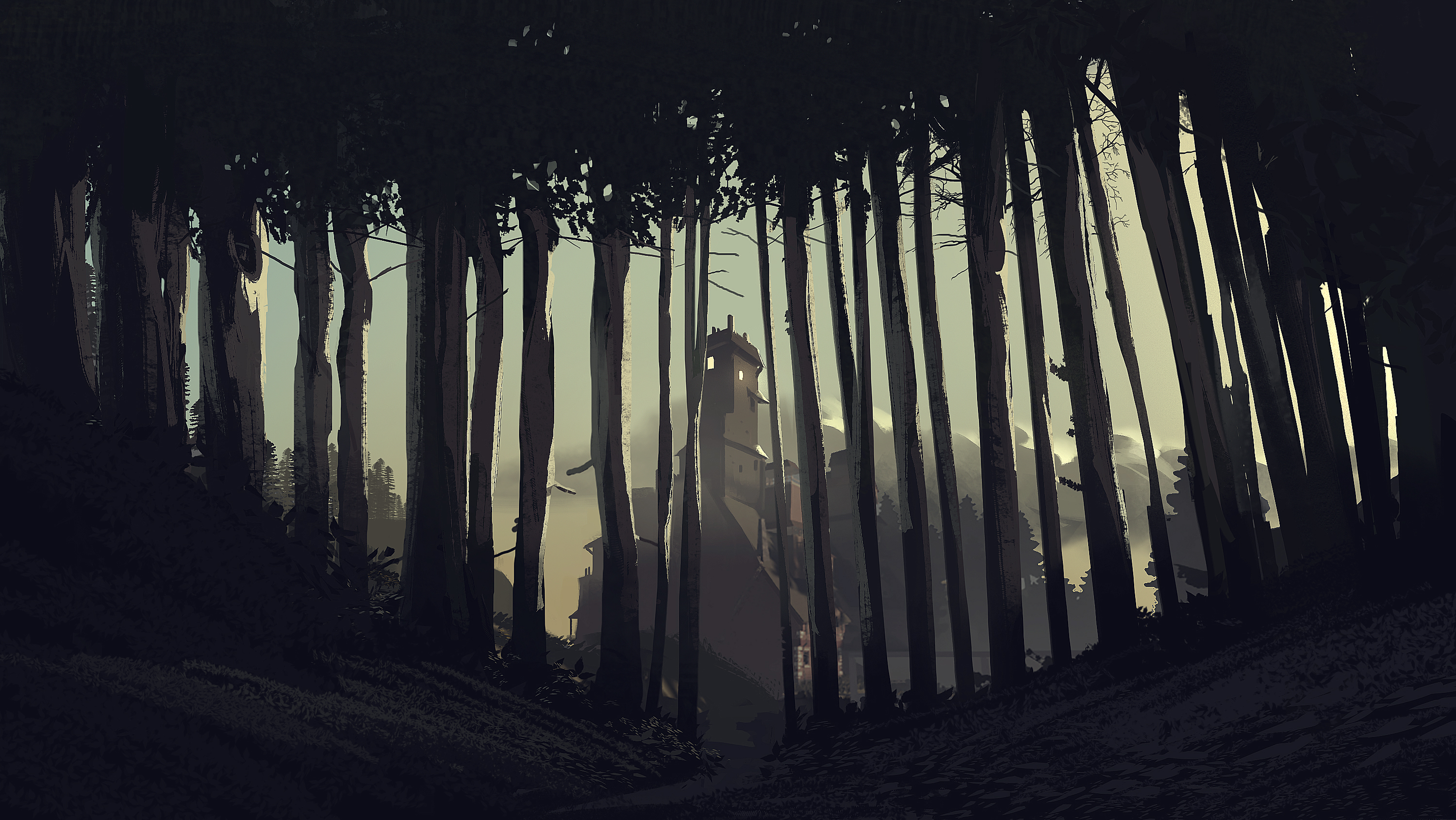 What Remains of Edith Finch-woods