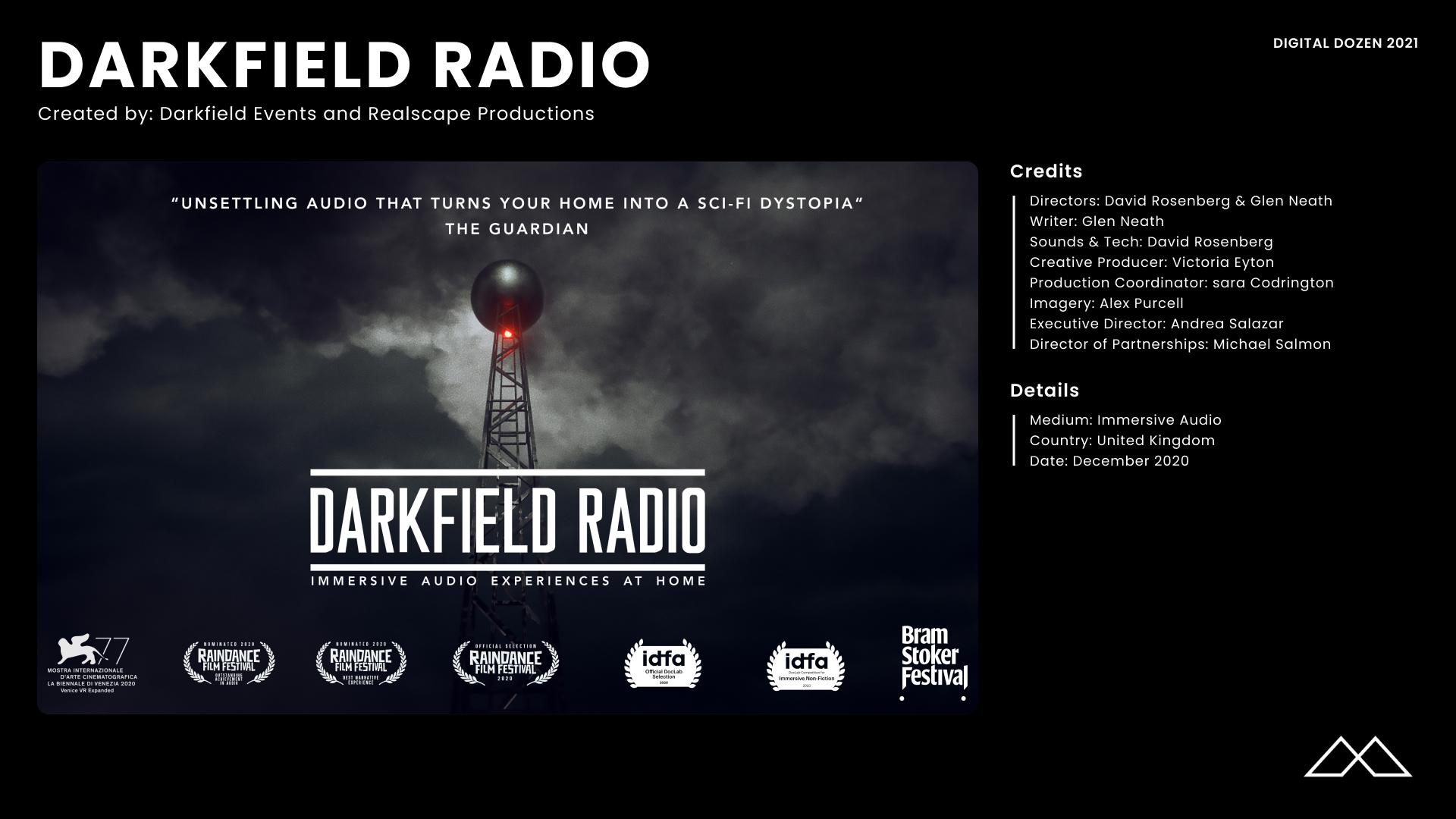 Darkfield Radio Credits