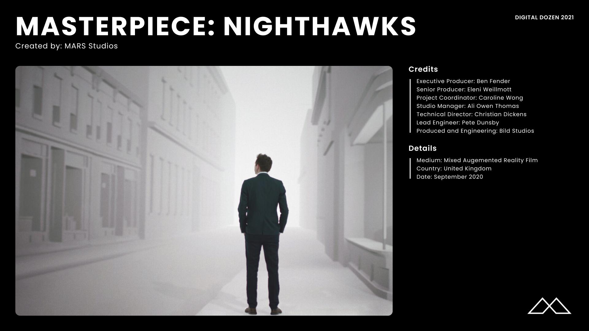 Masterpiece_ Night hawks Credits