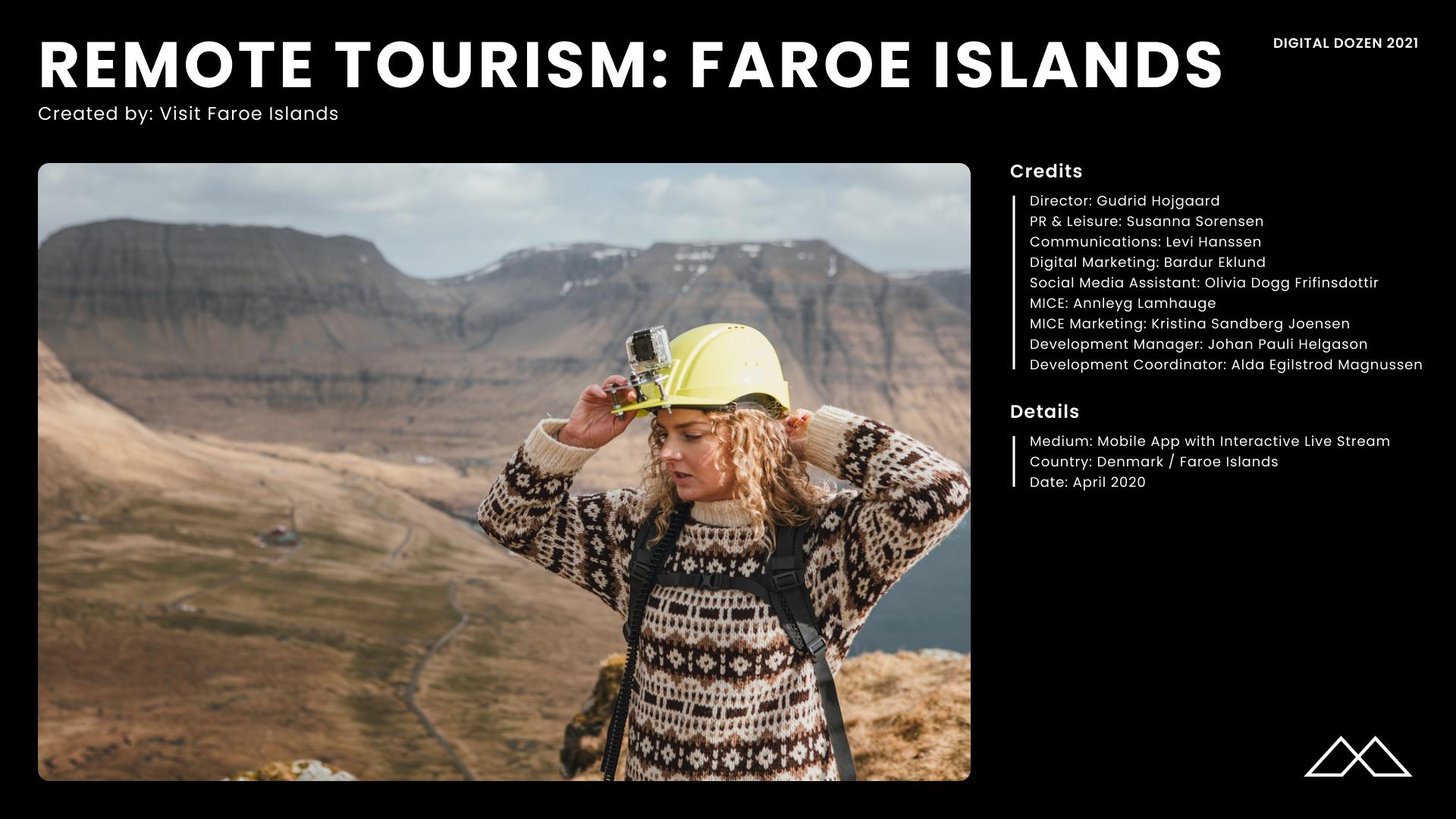 Remote Tourism Credits